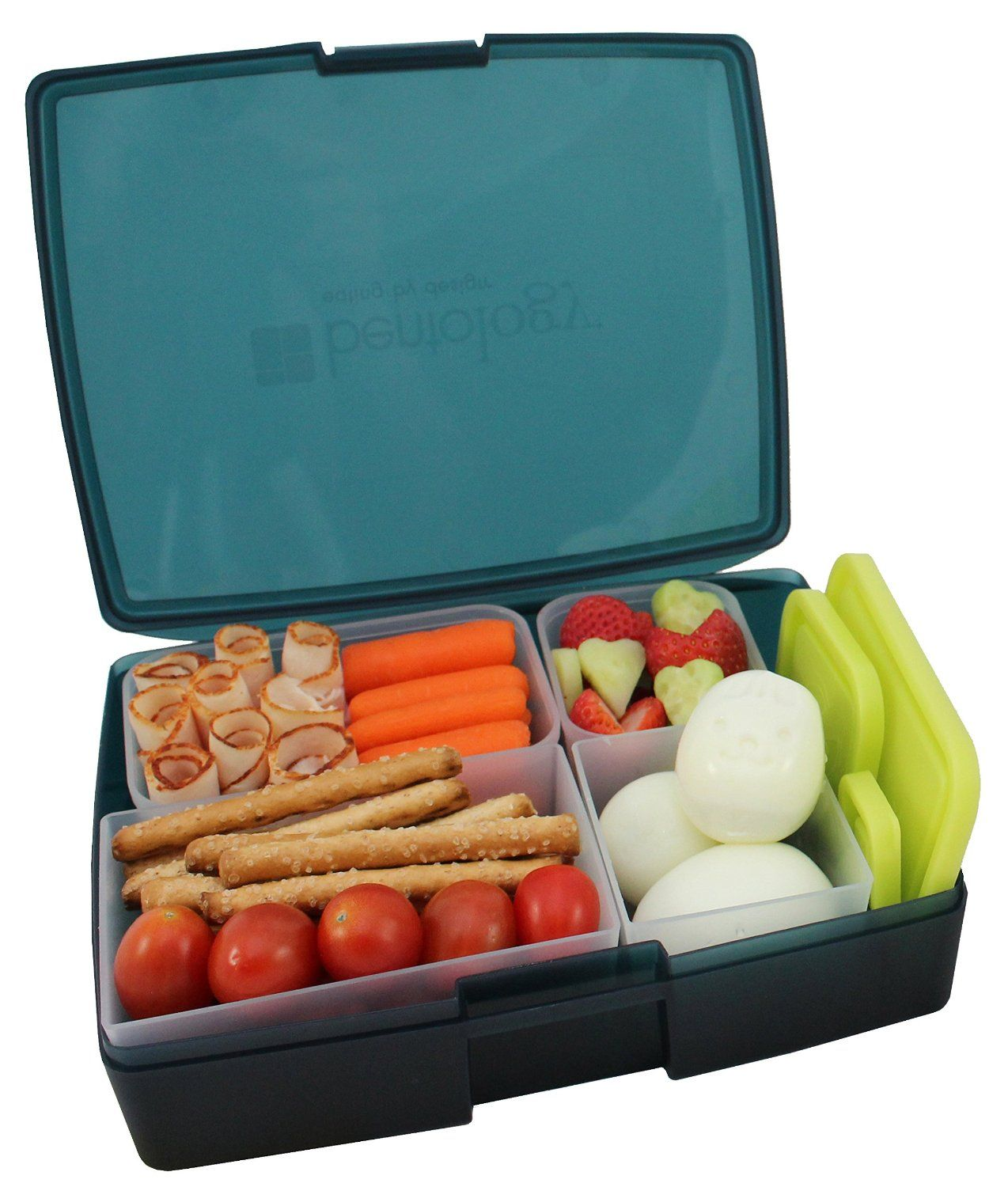 lunch box leakproof translucent midnight bento box with 5 pear rh pinterest co uk