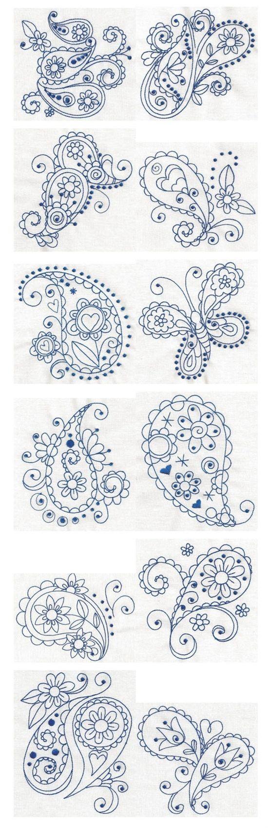 Embroidery | Bordado, Mandalas y Patrones