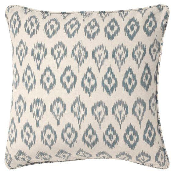 Azzurro Cushion Cover Large Luxury Cushions Cushion Cover Grey Cushion Covers