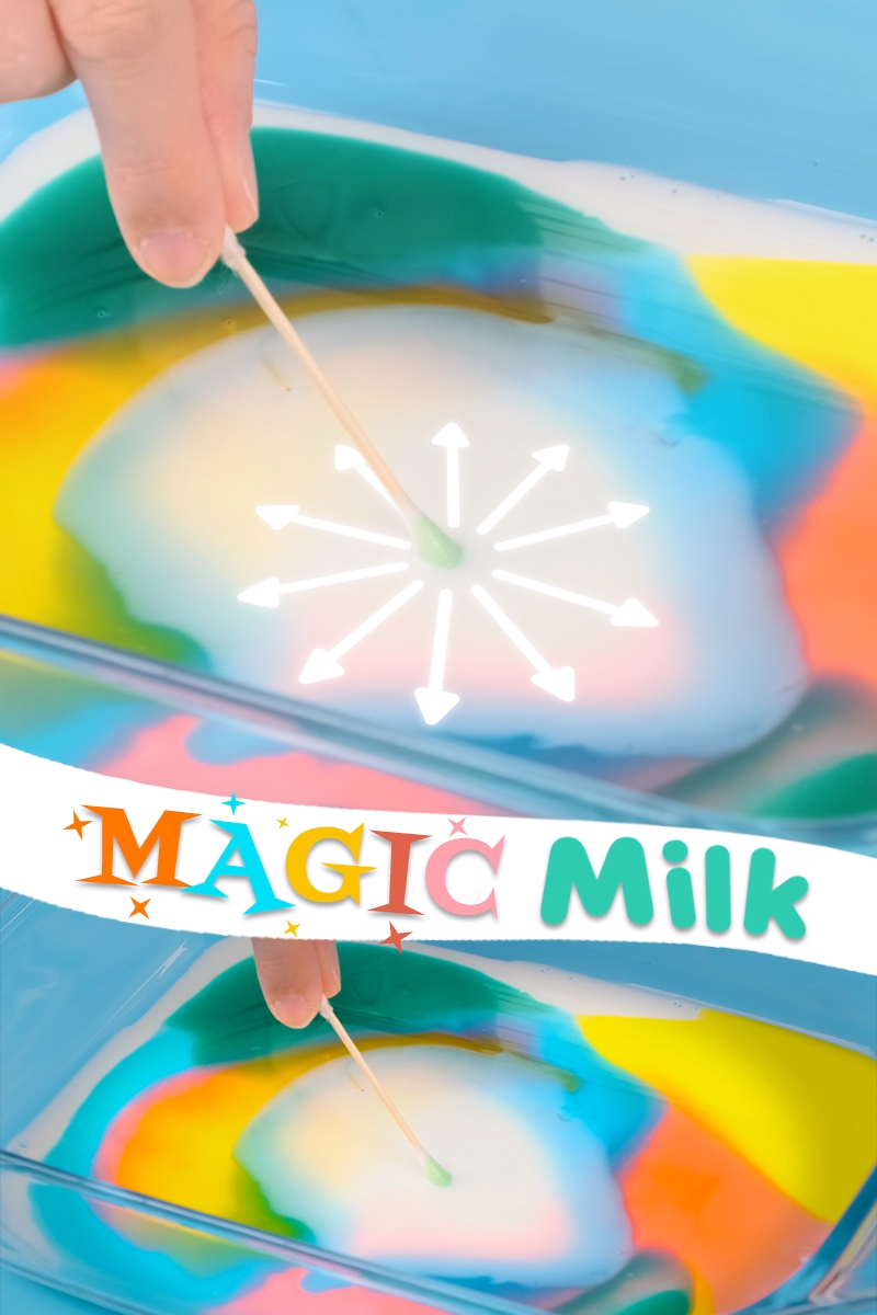 Magic Milk - A Fun Science Experiment and DIY Kid Craft -   19 diy projects For Boys food coloring ideas