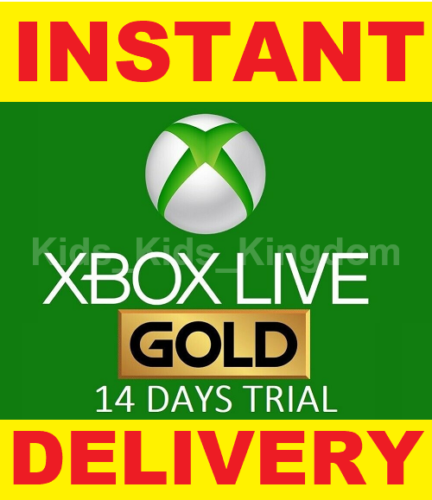Xbox Live 14 Day Gold Trial Membership Code 2 Weeks  Xbox One Only  Instant Xbox Live 14 Day Gold Trial Membership Code 2 Weeks  Xbox One Only  Instant Experience the bes...