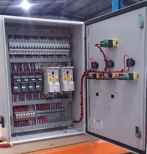 Custom Electrical Control Panels Barry Brown Sons Control Panels House Wiring Electrical Projects