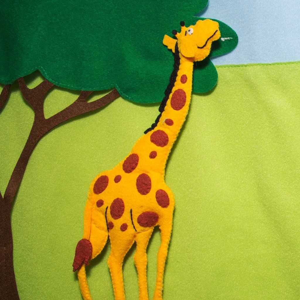 safari play wall use imagination to create a wild african safari
