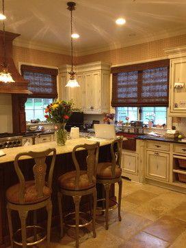 Provenance Woven Woods in Kitchen - traditional - kitchen - newark ...