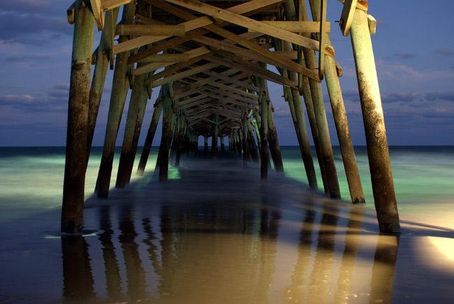 Surfside Beach Pier Surfside Beach Beautiful Beach Pictures