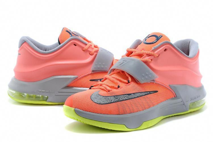 sleek thoughts on new styles KD Shoes for Girls | Nike Kevin Durant 7 KD 7 Shoes Pink Orange ...