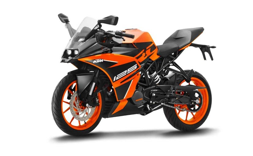 Ktm Rc 125 Abs Launched In India At Price Rs 1 47 Lakh Ktm Rc