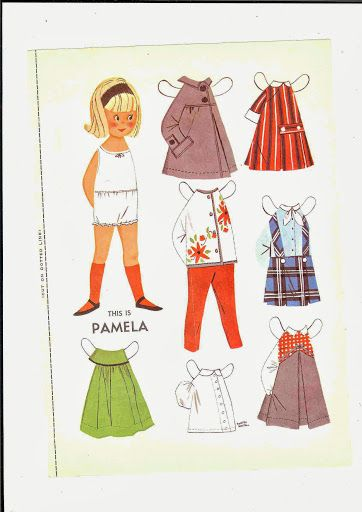 pamela* 1500 free paper dolls at Arielle Gabriel's International Paper Doll Society for other paper doll Pinterest pals...*