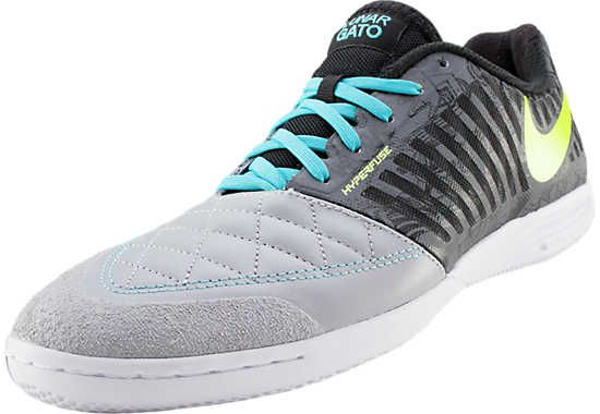 Nike FC247 Lunargato II Premium Indoor Soccer Shoes - Wolf Grey with Volt |  SoccerMaster.