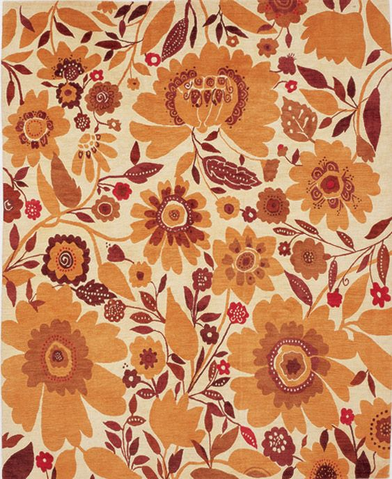 """Oshun"" plush designer rug from the Kim Parker Home collection. Copyright Kim Parker 2012. All rights reserved. Available exclusively at www.kimparker.tv"