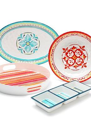 Bobby Flay Melamine Dinnerware & Serveware Collection ...
