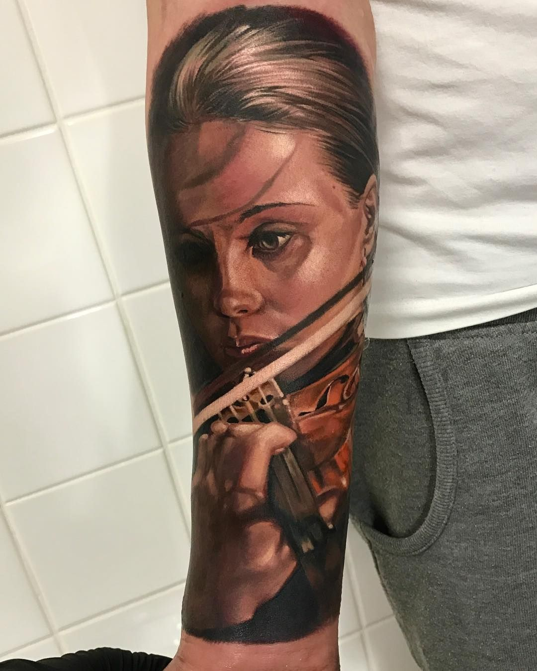 Love This Portrait Tattoo Best Tattoo Ever Tattoo Artists Tattoos For Women