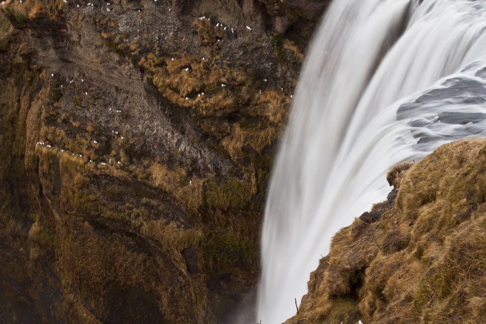 South shore and waterfall, Iceland | Notes of a Wanderer by madarakd