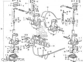 honda cb500 four k1 general export carburetor honda cb500 and