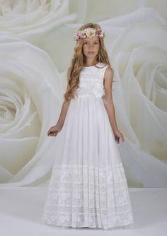 Vestidos de primera comunion bohemios
