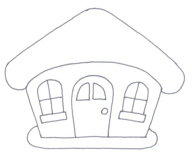 La trapera de Amelia patchwork: Patrones de casitas   empezar ...
