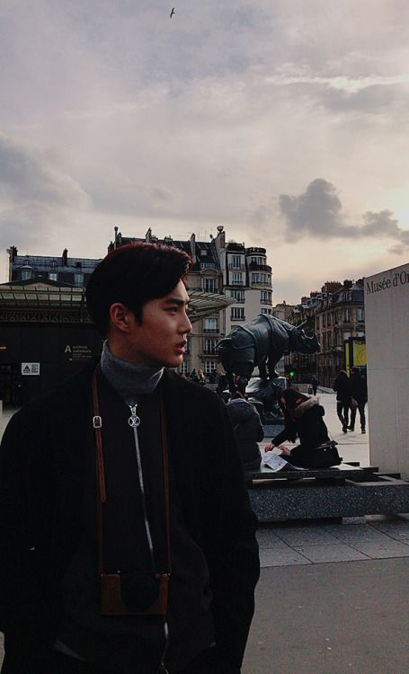 Suho - 170313 Official EXO-L website update  Credit: Official EXO-L website.