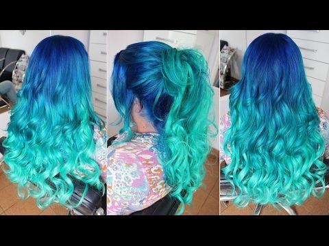 Cabelo De Sereia em Degrade, Mermaid Hair passo a
