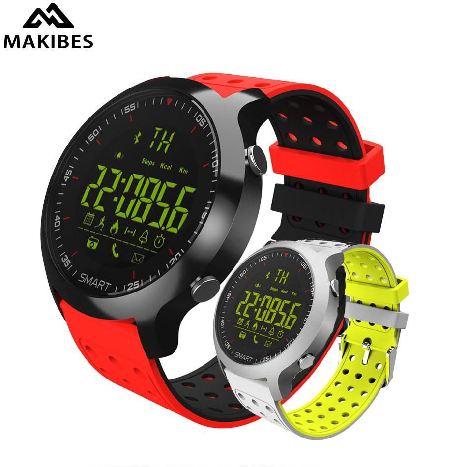Makibes EX18 Smart Watch 5ATM Water Resistant Bluetooth 4 0 Call SMS