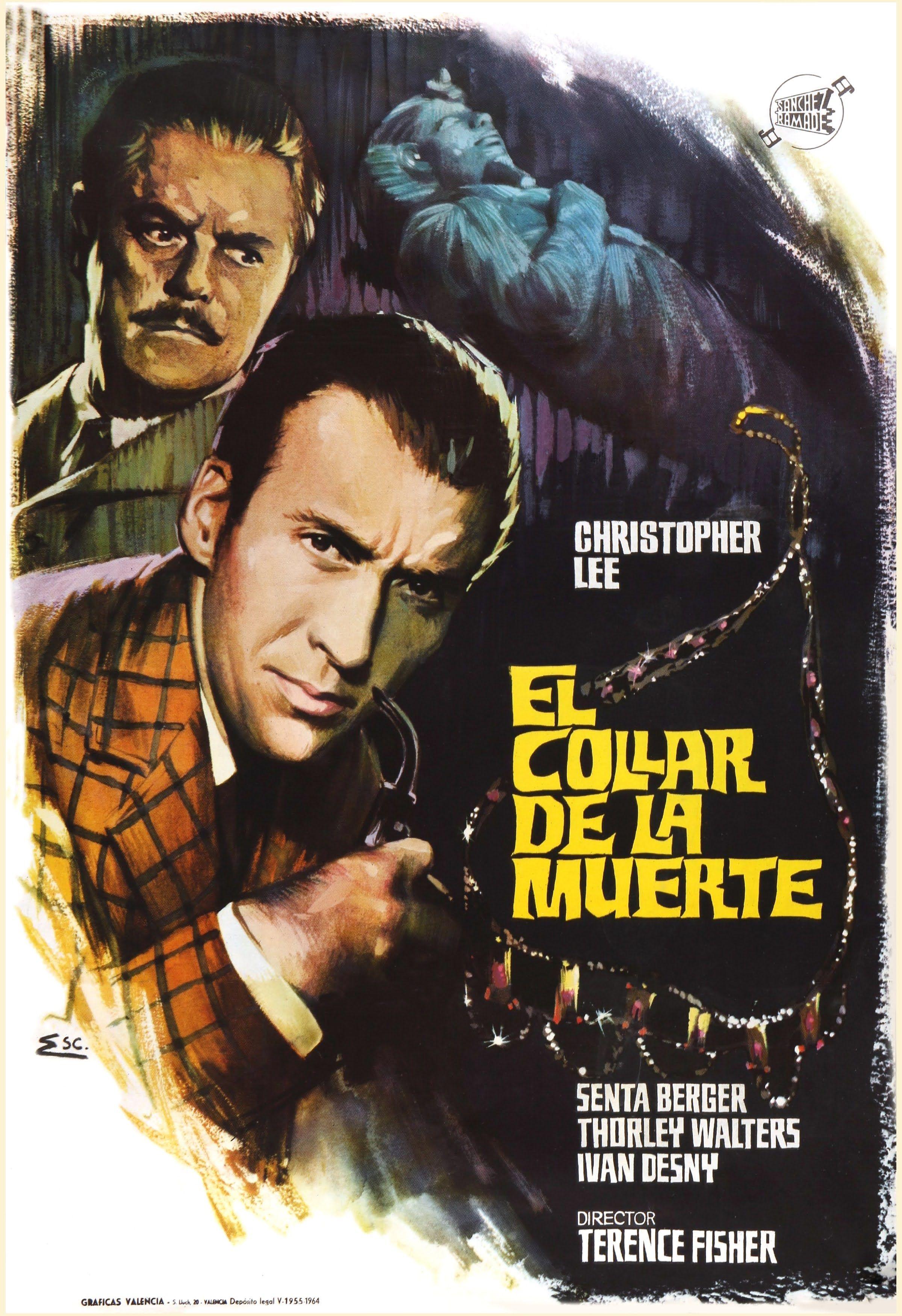 El Collar De La Muerte Sherlock Holmes Sherlock Carteles De Cine