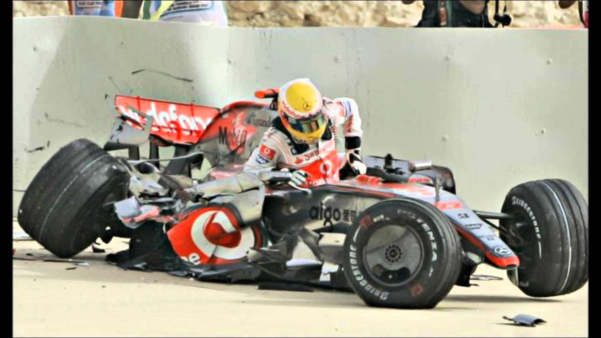 f1 crash maxresdefault.jpg F1 crash, Grand prix racing