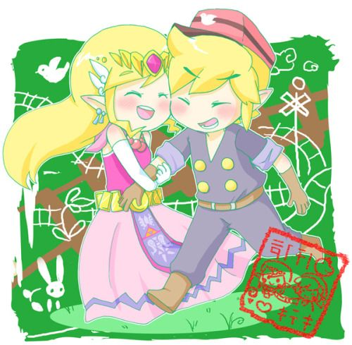 link et zelda - Link Et Zelda