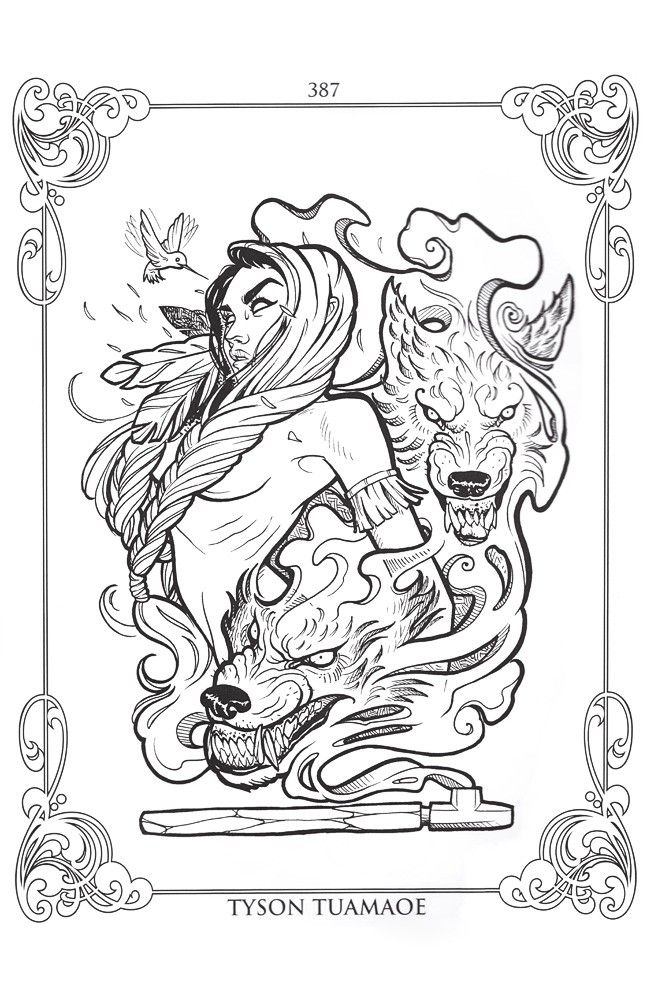 tattoo coloring book project - Google Search | Sweet Tattoos and ...