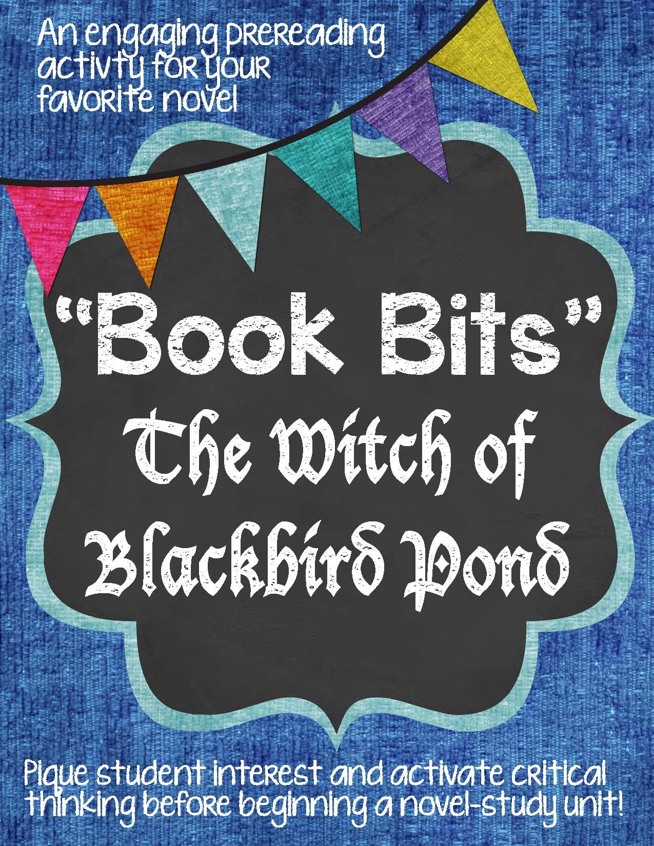 Book Bits A Fun Pre Reading Activity For The Witch Of