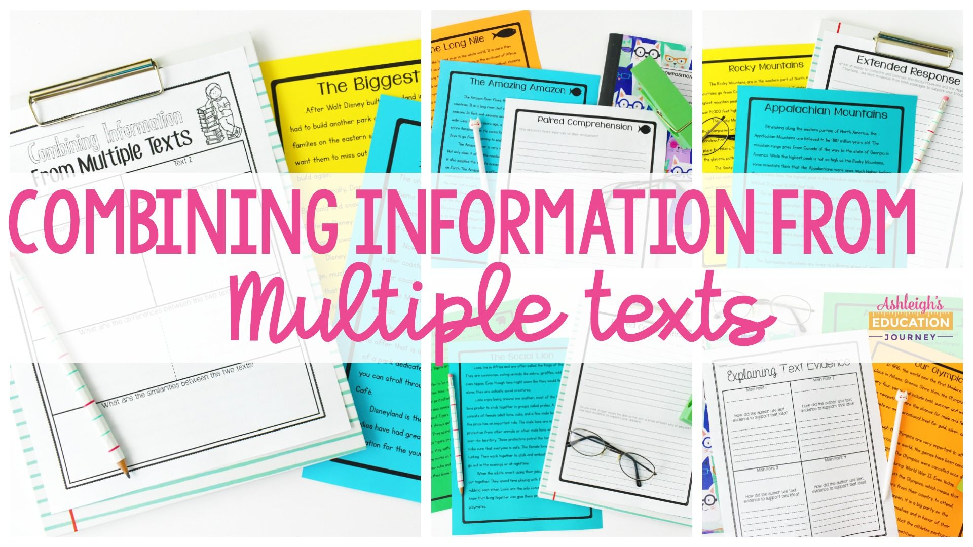 Combining Information From Multiple Texts