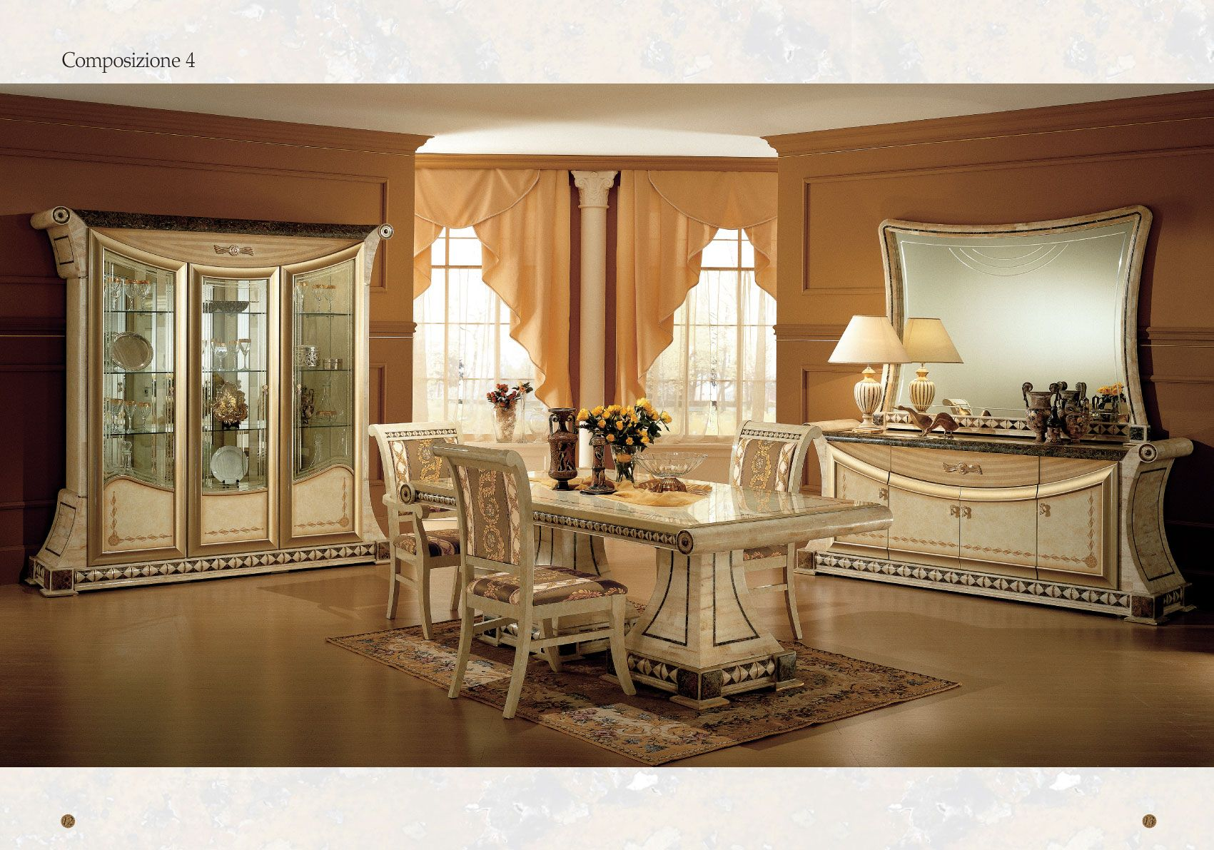 Perfect Dining Room Collection Italy Collections Italian Decor