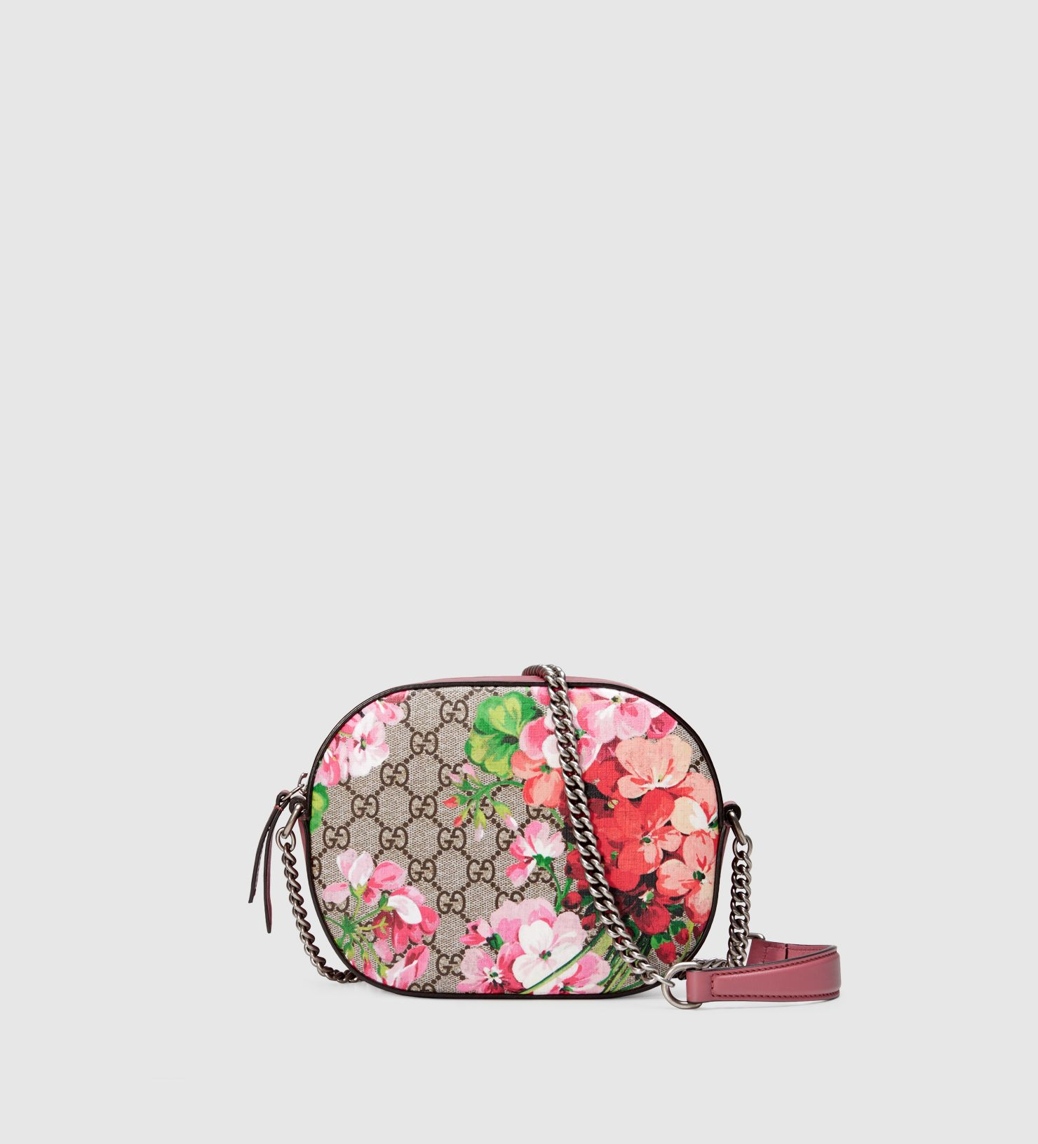 7ca3e2806429 Gucci Blooms Gg Supreme Mini Chain Crossbody Bag | Stanford Center ...
