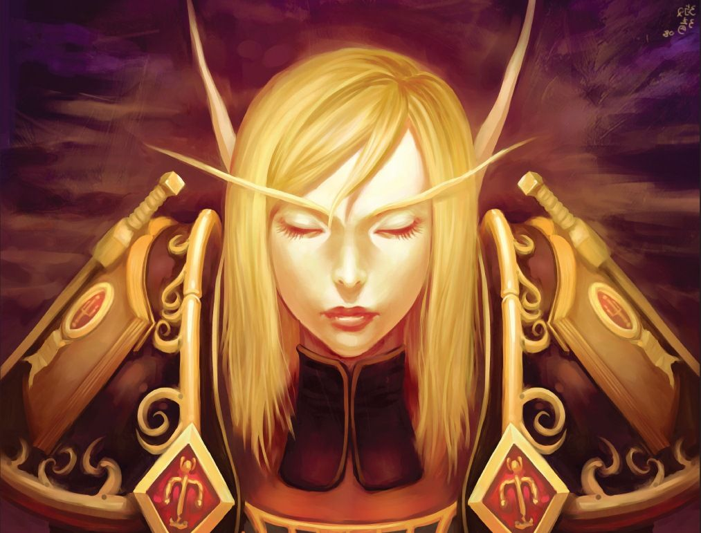 World Of Warcraft Wallpaper Blood Elf Wow En 2019