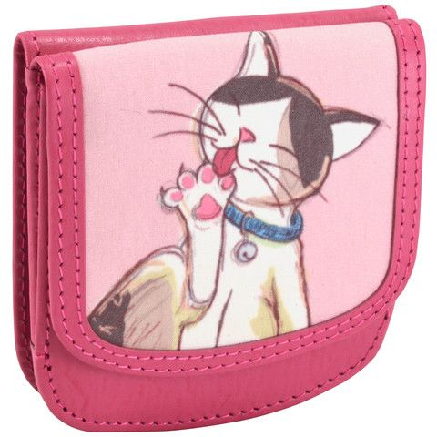 e3ead9fd2104 OWLrecycled Taxi Wallet - Cats | Style | Taxi wallet, Leather card ...