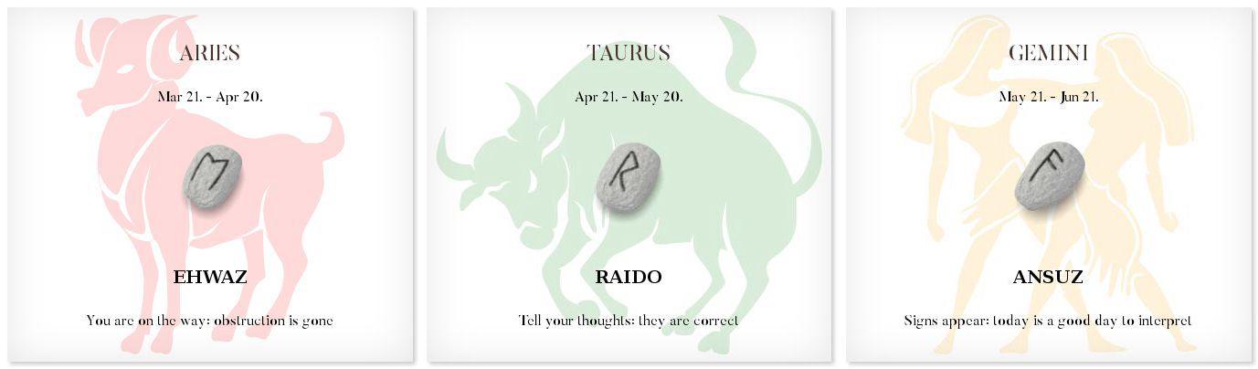 Daily Runescope 6/16/2016 #Horoscope #Zodiac #runes #freerunereadings #dailyrune #wicca #pagan #witch #magick #divination