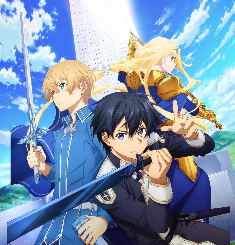 Desde Bandai Namco Entertainment Desveló La Producción Del Juego En Línea Sword Art Alicization Lycoris Arte De Anime Personajes De Anime Sword Art Online