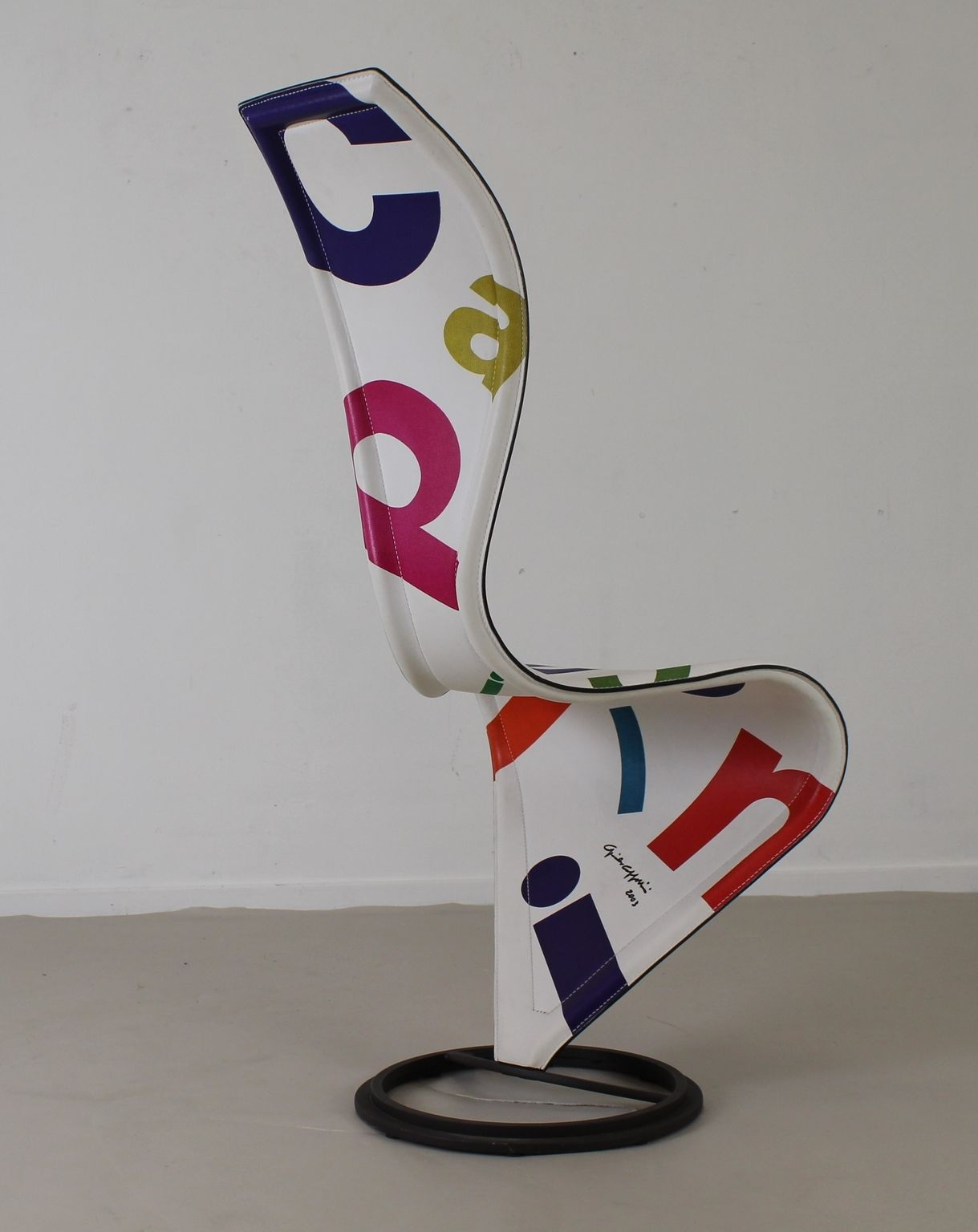 Limited Edition S Chair By Tom Dixon For Cappellini Signed By Giulio Cappellini 1stdibs Side Chairs Chair Cappellini