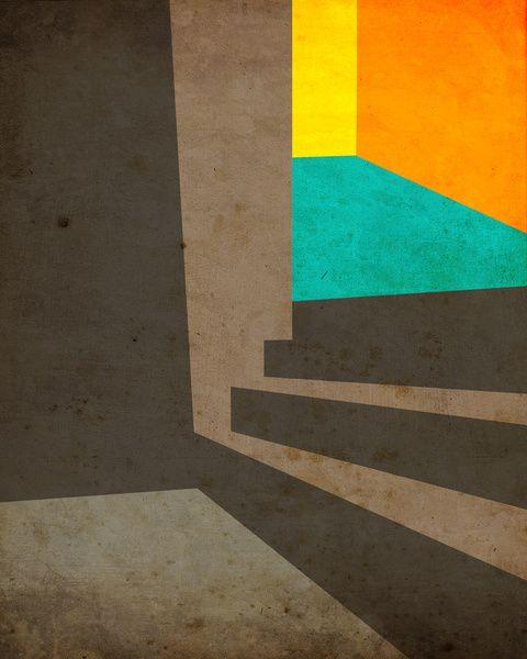 Upward #3 Art Print by Jazzberry Blue