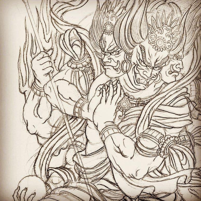 阿修羅 刺青