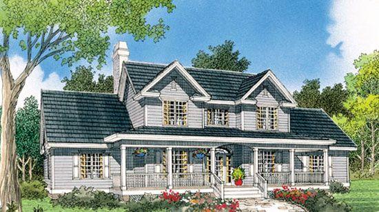 The Saddlebrook Plan 762 House Exterior House Plans House