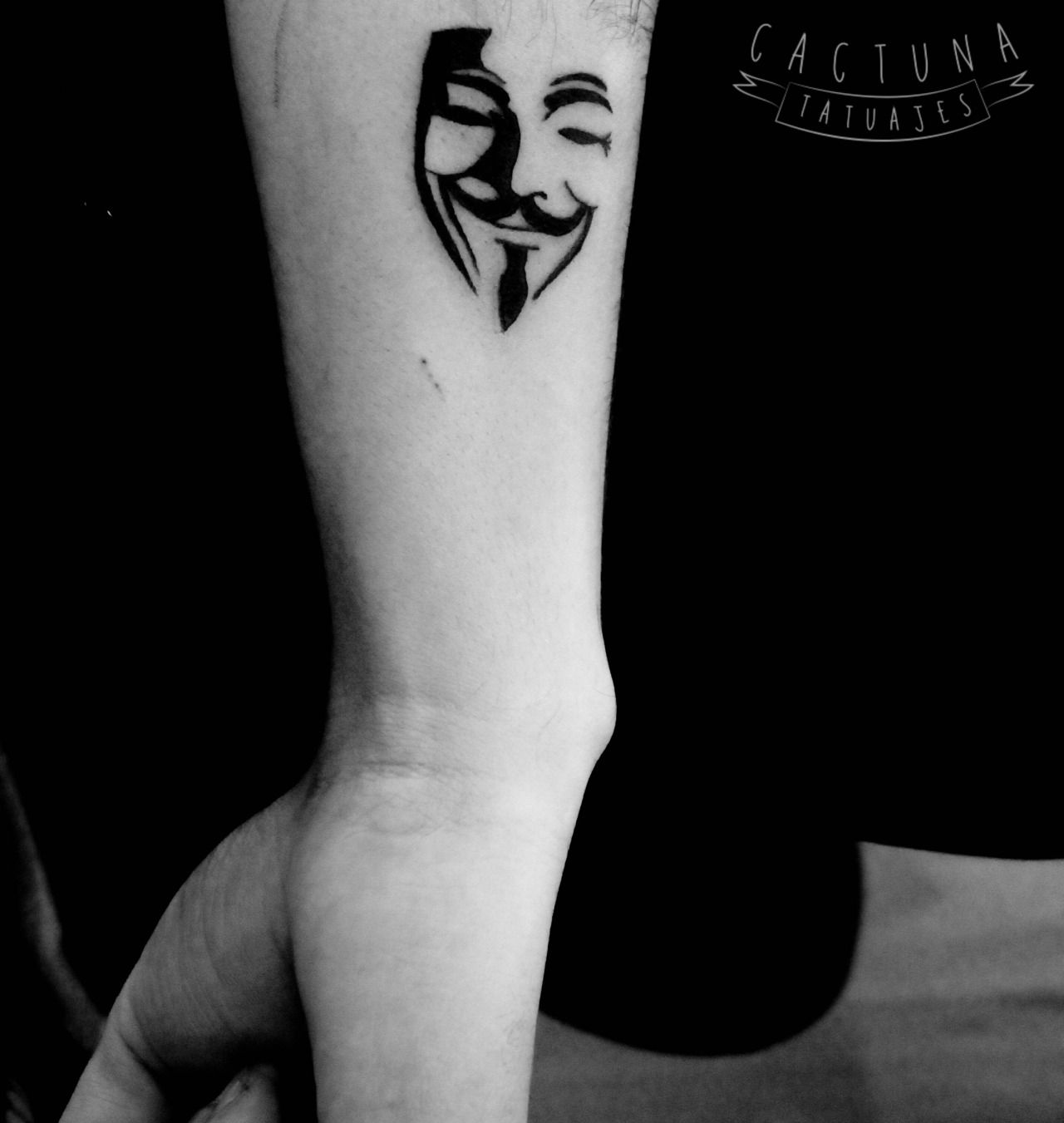 Remember The 5th Of November With These Guy Fawkes Mask Tattoos Electronic Circuit Board Full Sleeve Blackwork Male Tattoo