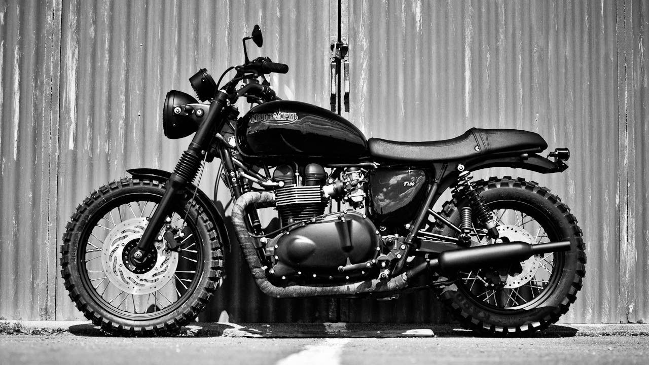 Triumph Bonneville T100 Full Black edition | Custom Triumph