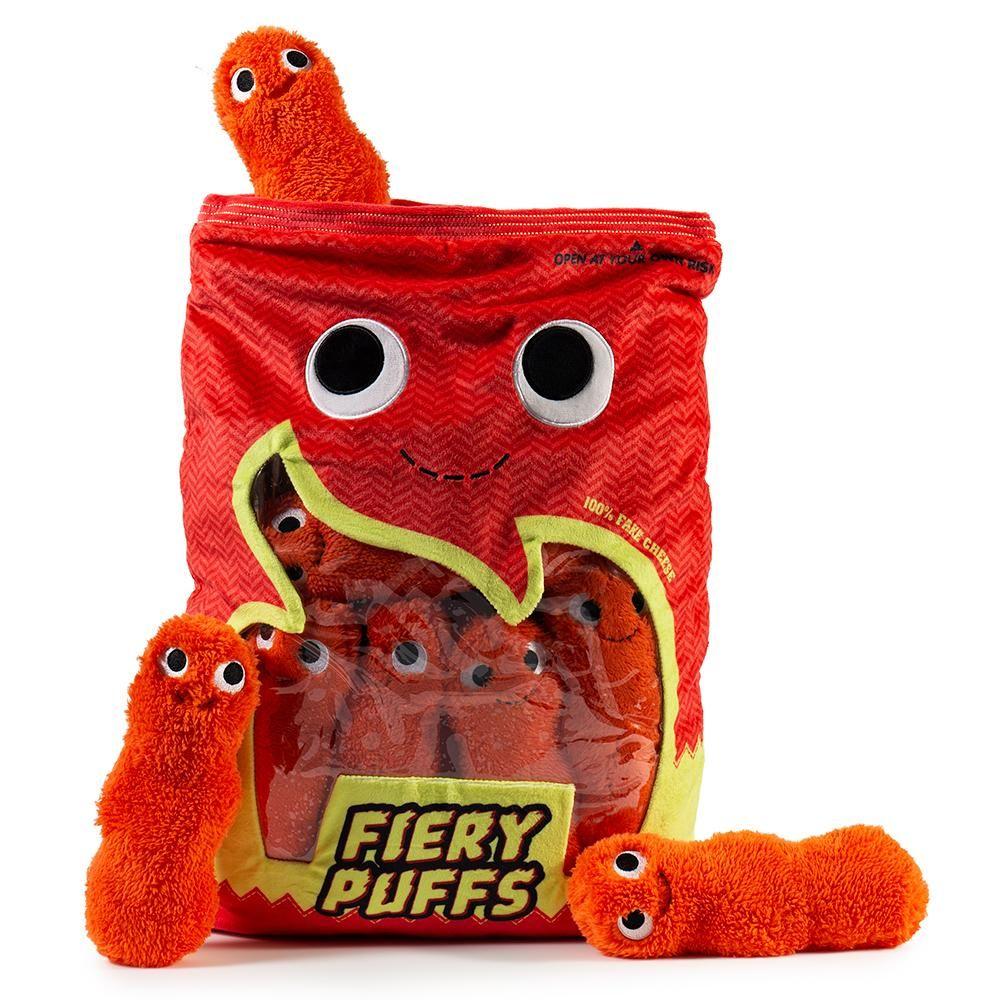 Yummy World Fiery Puffs XL Plush by Kidrobot