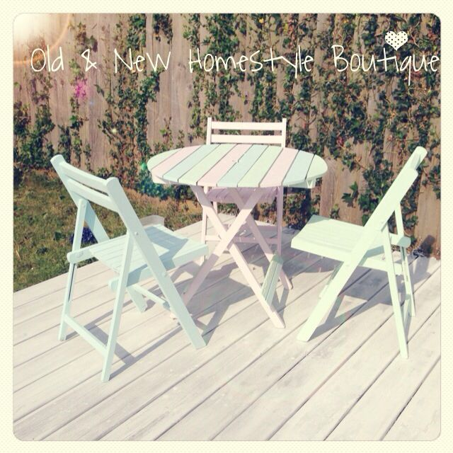 Pastel Garden Table Amp Chairs Garden Table And Chairs Garden Table Table And Chairs