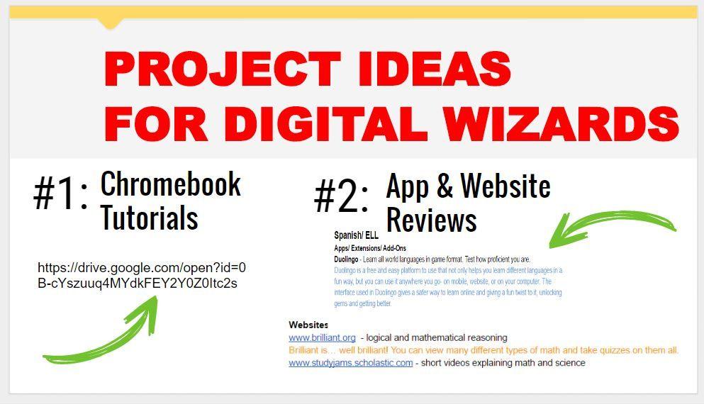 projectideasfordigitalwizards Website tutorial, App