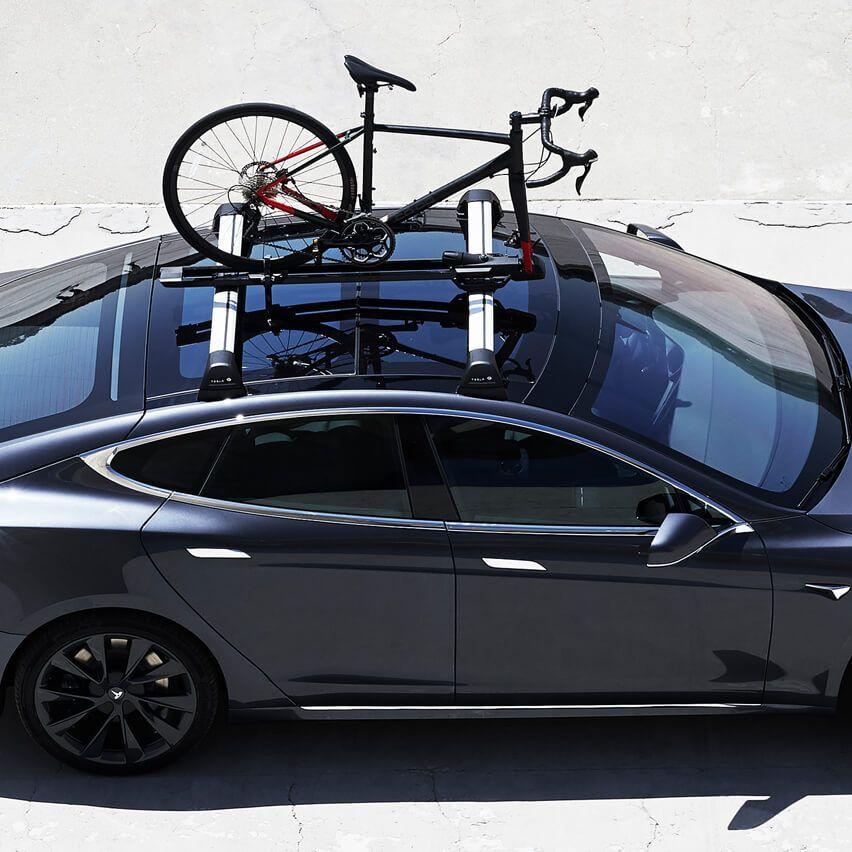 Model S Whispbar Roof Rack System Tesla Model S Roof Rack Tesla Model