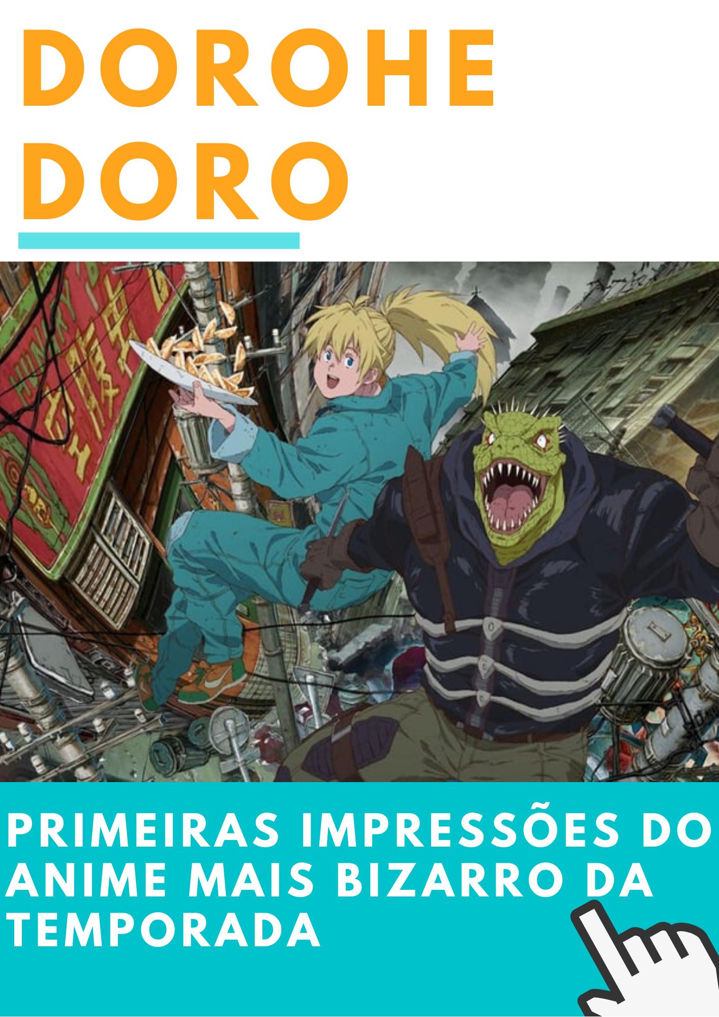 Dorohedoro Primeiras impressões do anime mais bizarro da