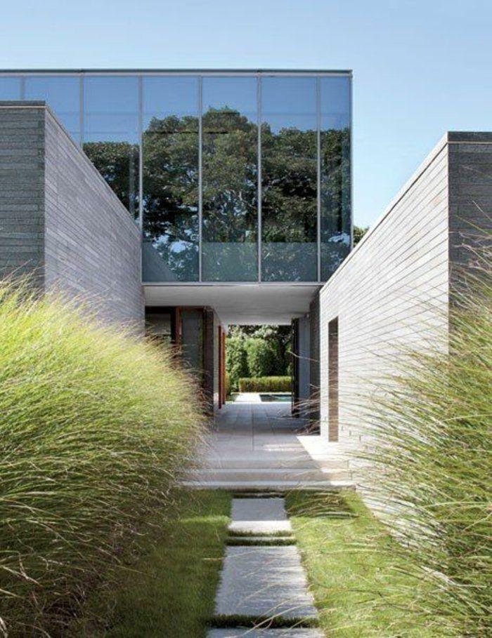 Le minimalisme en architecture contemporaine en 53 photos! Facades - facade de maison contemporaine
