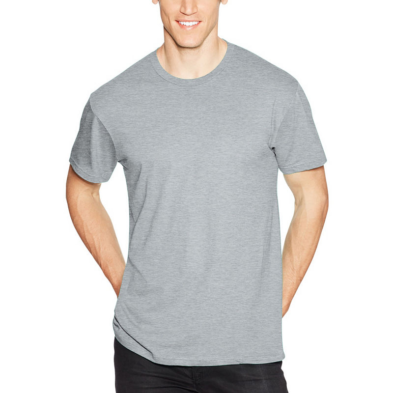 Hanes Mens Crew Neck Short Sleeve Cooling T Shirt Cool T Shirts