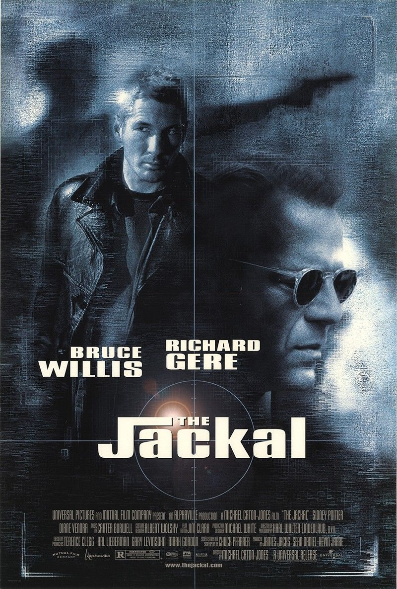 THE JACKAL (1997) Movie posters, Cinema posters, Movies