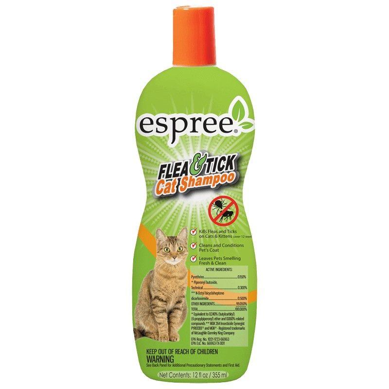 Espree Flea Tick Cat Shampoo Cat Shampoo Fleas Flea Tick